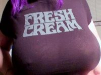 Larkin Love delivering some fresh cream