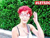 LETSDOEIT – Sexy Mature Redhead Picked Up For Indoor Sex