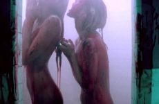 Abbey Lee Kershaw And Bella Heathcote Showering In Some Hawaiian Punch Juice, Totally Normal, Nothing Demented