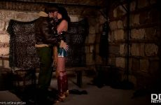 "Anissa Kate & Ryan Ryder In ""Horny Wonderwoman: Salacious Babe In Costume Fucked Up Her Ass"""