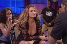 Chrissy Teigen Has Quite The Itchy Plot On An Episode Of 'Wild 'N Out'