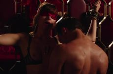Dakota Johnson Tied Up In Fifty Shades Freed