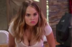 Debby Ryan Tight Shirt And Cleavage Plot On Insatiable
