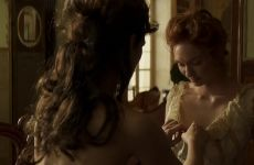 Eleanor Tomlinson Topless In Colette