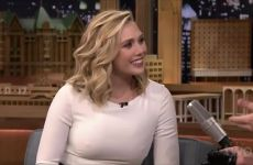 Elizabeth Olsen Bringing Some Serious Plot To 'The Tonight Show'