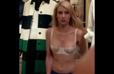 """Emma Roberts Lingerie Compilation From """"Nerve"""", """"American Horror Story"""" And """"Scream Queens"""""""