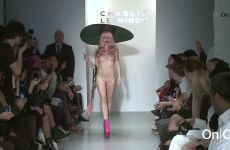 Full Frontal Plot On Fashion Runway