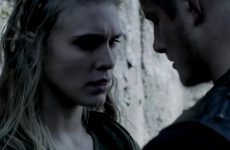 Gaia Weiss Boobs Grope Compilation In Vikings