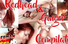GERMAN SCOUT – REDHEAD GINGER TEEN FUCK AND CUM COMPILATION