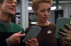 Jeri Ryan Tight Suit Plot In Star Trek Voyager