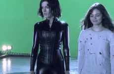 Kate Beckinsale Latex Plot In Underworld Awakening BTS