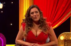 Kelly Brook In Celebrity Juice