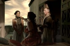 Lesley-Ann Brandt Plots Out In Spartacus