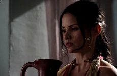 Lucy Lawless And Katrina Law In Spartacus