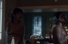 Mackenzie Davis Nip Slip In Freaks Of Nature