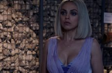 Mila Kunis Overpowered In LowCut Dress –