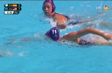 NBC Underwater Camera For Women's Water Polo