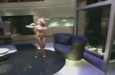 "Pamela Anderson Completely Nude On ""The Girls Next Door"""