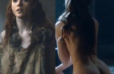 Rose Leslie And Charlotte Hope In Game Of Thrones