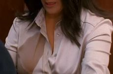 Salma Hayek Revealing Her Massive Plots In Ugly Betty