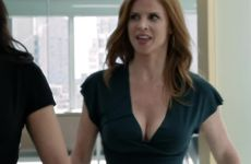Sarah Rafferty Jiggle Plot On Suits