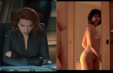 Scarlett Johansson – Clothed Vs. Unclothed
