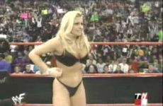 Trish Stratus About To Take It All Off!
