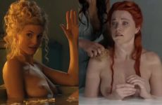 Viva Bianca And Lucy Lawless In Spartacus