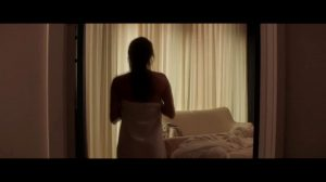 After Shower Dropping Towel Plot With Ana Girardot In Entangled