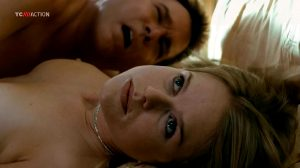 Alice Eve – Crossing Over- Topless Tit Jiggles – SMOOTH SLOWMO