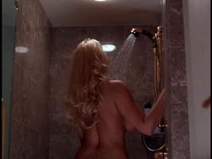 """Anna Nicole Smith Showcasing Her Acting Talents In """"Skyscraper"""""""