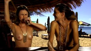 Augie Duke And Ragan Brooks Topless In A Beach Bar, Chemistry S1E8 (2011)