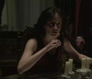 Clothed Eva Green Talking Dirty In Penny Dreadful