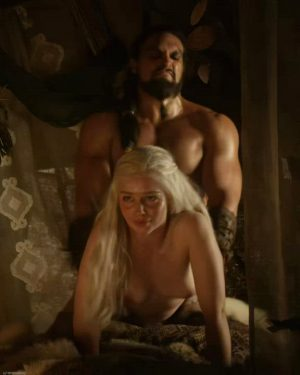 Emilia Clarke Banged From Behind In Game Of Thrones S01 (2011)