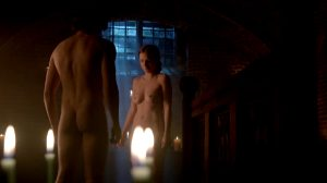 """Faye Marsay's Excellent Rack In """"The White Queen"""" S1E6"""