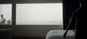 Gabriela Cartol Giving A Voyeuristic Show To The Window Cleaner In A Hotel……the Chambermaid