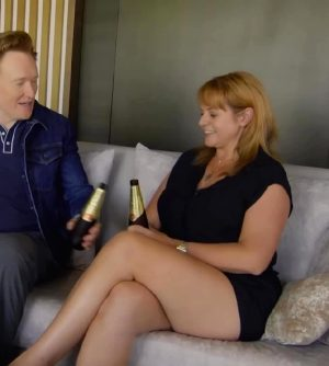 Gabrielle Rogers Gained Quite A Bit Of Attention For All The Leg Plot She Provided On An Episode Of 'Conan'