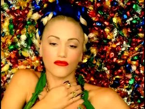 """Gwen Stefani In Her Music Video For """"Luxurious"""""""