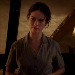 """Lily James' Exceptional Plot In """"The Exception"""""""