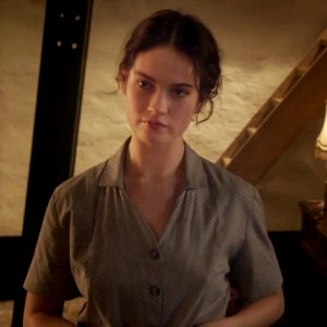 Lily James In 'The Exception'