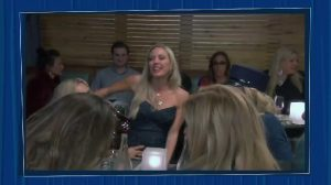"""Scene From The """"Real Housewives Of Orange County."""" Tamra Judge Kissing Braunwyn Windham-Burke"""