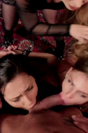 Sydney Cole, Jaye Summers And Aiden Starr