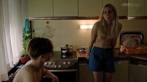 Tara Thaller Wearing Only Shorts In Uspjeh S1E4