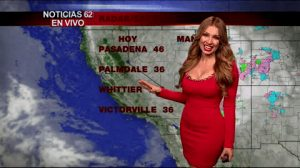 Weather Girl Janice Villagran Giving Us Some Firm, Tight Plots In The Morning.