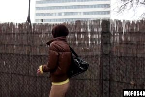Alexis Brill – Prospecting Tall Brunette On The Street