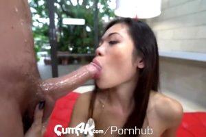 Asian Slut Takes It Hard And Deep.