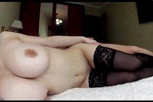 Creampie pussy of step sis cum again